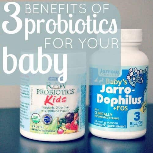 3 benefits of probiotics for your baby