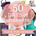 50 days of giveaways front page image