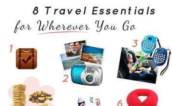 8 Travel Essentials for Wherever You Go