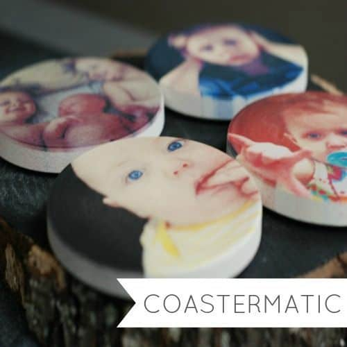 Coastermatic Photo Coasters