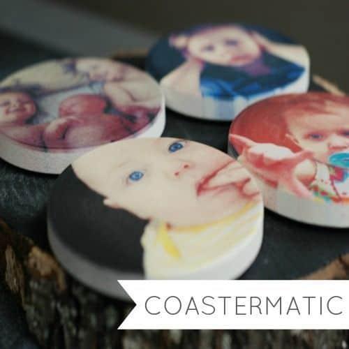 Coastermatic Photo Coasters