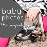 ChicCanvas baby photos reimagined