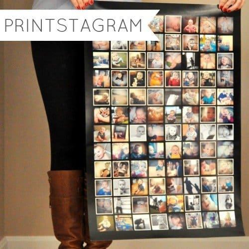 Printstagram Instagram Poster