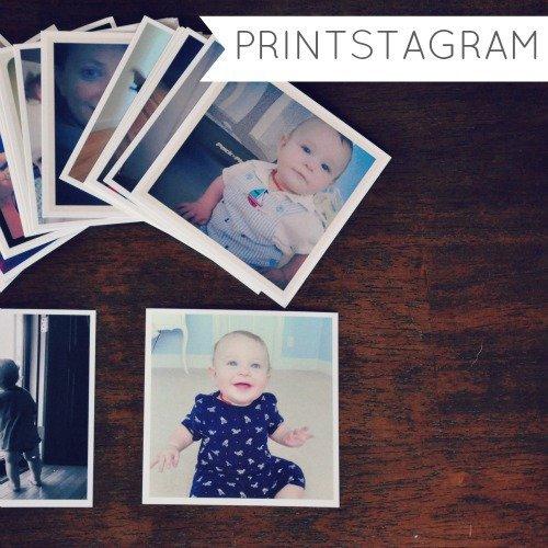 Printstagram Picture Squares