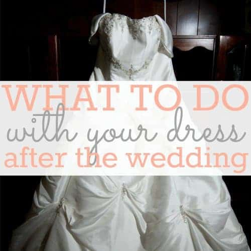 Daily Mom » What To Do With Your Dress After The Wedding