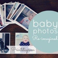 baby photos reimagined printstagram