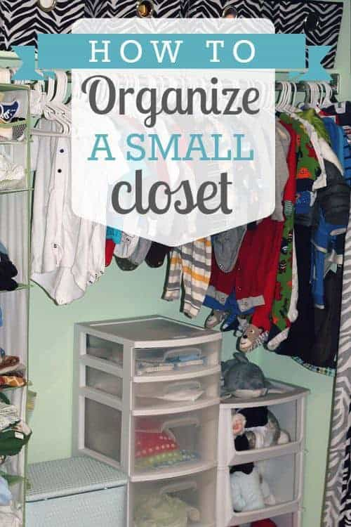 How to organize a small closet daily mom for How to organize your small bedroom closet