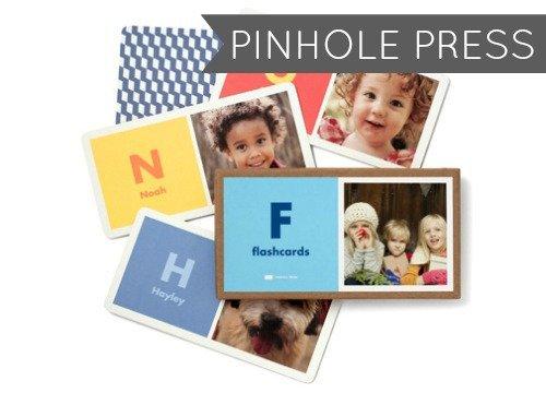 Pinhole Press Flash Cards