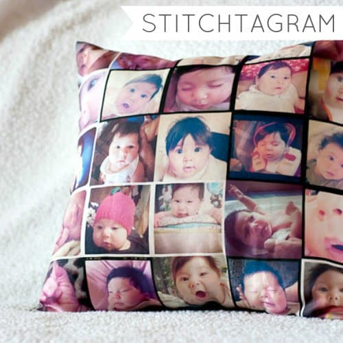Stitchagram Photo Pillow