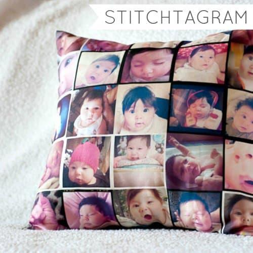 Stitchagram Photo Pillow