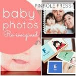 babys photo idea pinhole press
