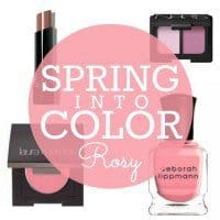 spring into color Rosy