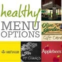 Healthy Menu Options