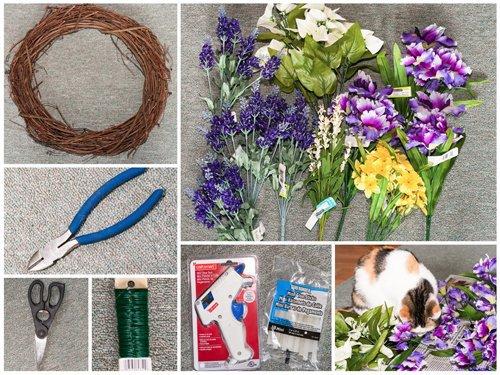Spring Door Wreaths Curb Appeal