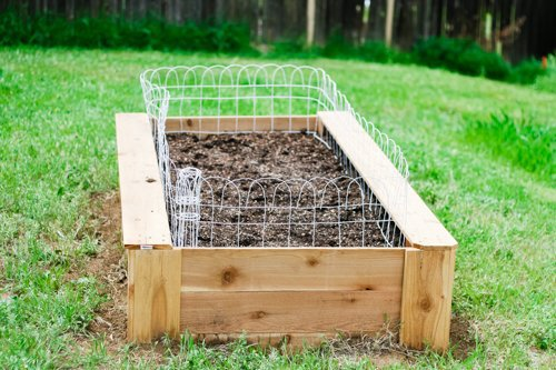 How to build a raised bed vegetable garden daily mom - Safest material for raised garden beds ...