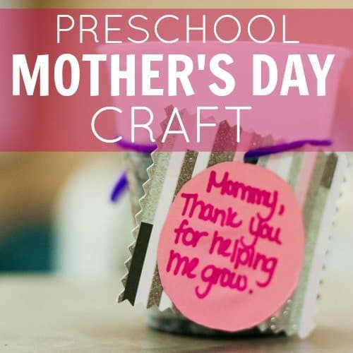 Engaging preschool mother 39 s day craft daily mom for Mother s day projects for preschoolers