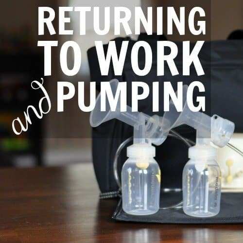Returning To Work And Pumping Daily Mom