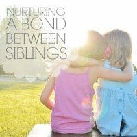 Nurturing a Bond Between Siblings 3