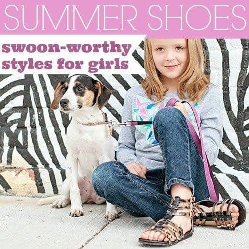 Summer Shoes: Swoon-Worthy Styles for Girls