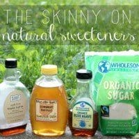 the skinny on natural sweeteners