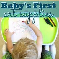 Babys First Art Supplies