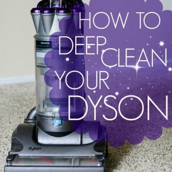 How To: Deep Clean Your Dyson Vacuum