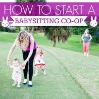 How To Start a Babysitting Co-Op