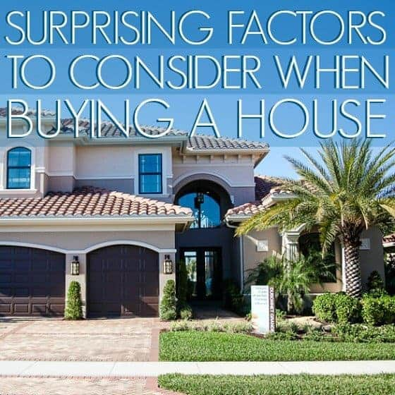 Surprising factors to consider when buying a house daily mom - Factors to consider when buying a house ...