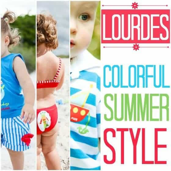 Lourdes: Colorful Summer Style