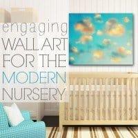 wall art for the modern nursery