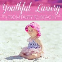 youthful luxury party to beach