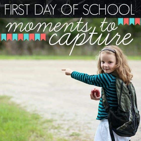 First Day Of School Photos: Moments To Capture