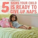 signs your child is ready to give up naps
