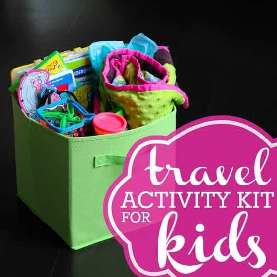 Creating The Ultimate Travel Activity Kit for Kids