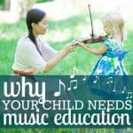 Why your child needs music education