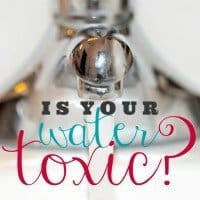 is your water toxic