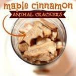 maple cinnamon animal crackers