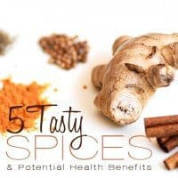5 tasty spices and potential health benefits