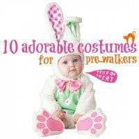 10 adorable costumes for prewalkers