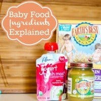 Baby Food Ingredients Explained