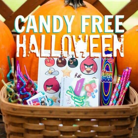 Affordable, Candy-Free Halloween Treats