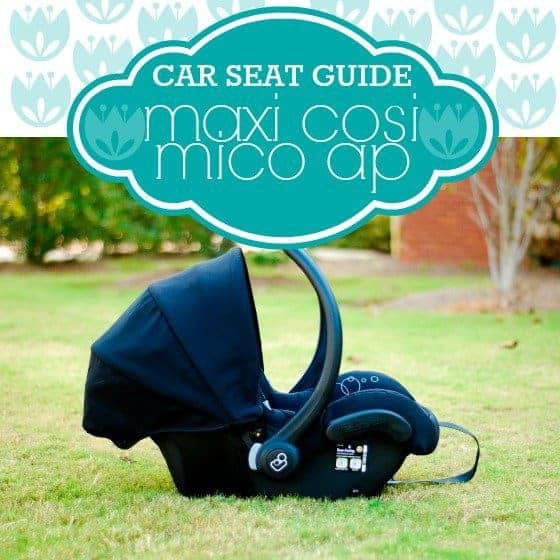 Car Seat Guide Maxi Cosi Mico AP