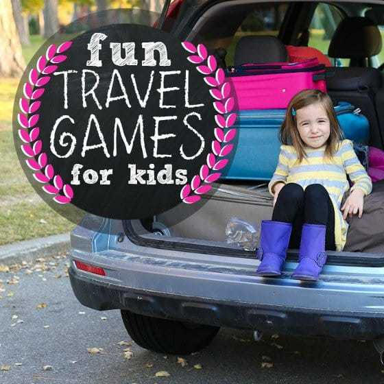 Fun Travel Games for Kids