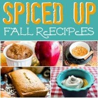 spiced up fall recipes