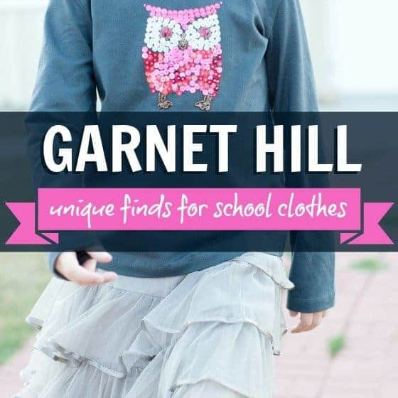 Unique Finds for School Clothes: Garnet Hill