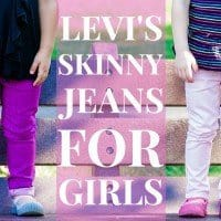 Levis Skinny Jeans for Girls (1 of 1)