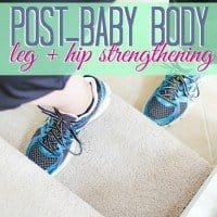 Post-Baby Body Hip and Leg Stregthening1
