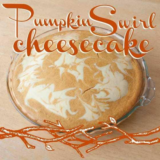 Pumpkin Swirl Cheesecake » Daily Mom