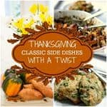 thanksgiving side dishes with a twist