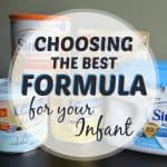 Choosing the best formula for your infant